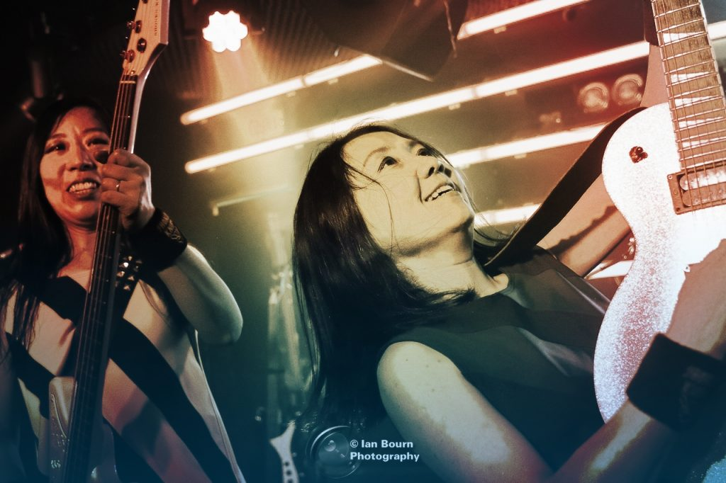 Shonen Knife - Pic by Ian Bourn / Scene Sussex / Media Works