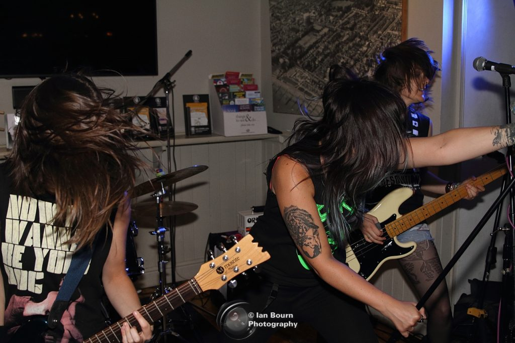 The Ramonas: pic by Ian Bourn for Scene Sussex