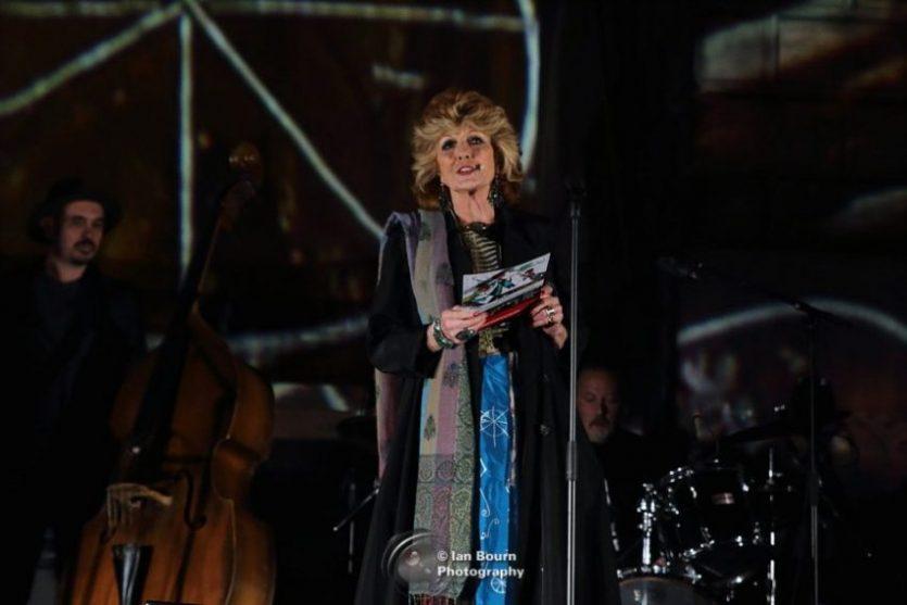 Rula Lenska: photo by Ian Bourn for Scene Sussex