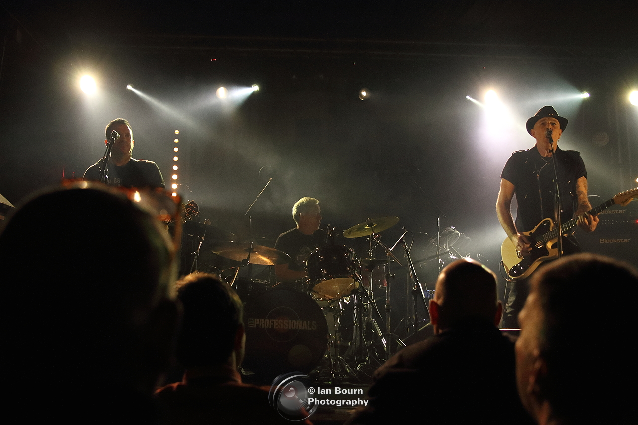 The Professionals - photo by Ian Bourn for Scene Sussex