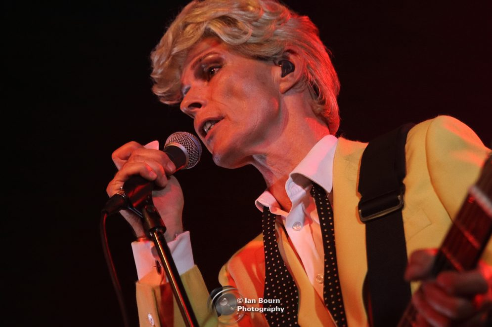 Absolute Bowie - pic by Ian Bourn for Scene Sussex.