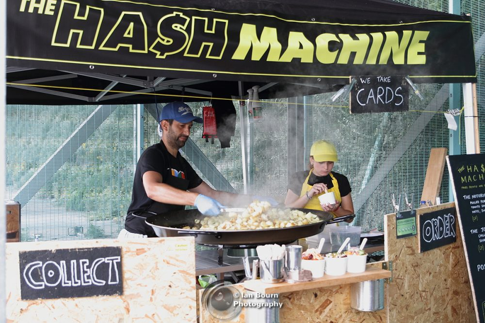 The Hash Machine - pic by Ian Bourn for Scene Sussex
