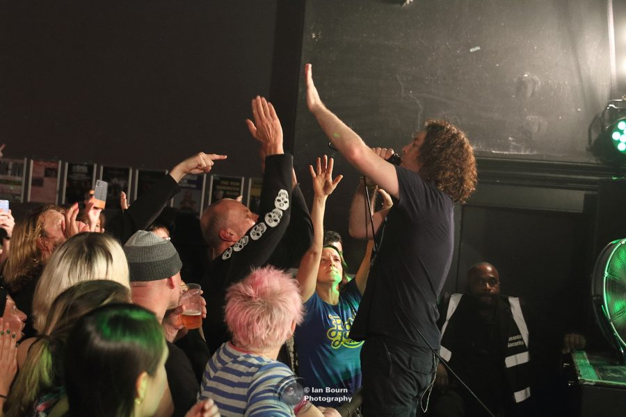 Pearl Jam UK: photo by Ian Bourn for Scene Sussex