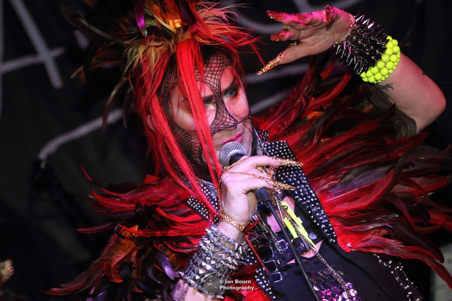 Sigue Sigue Sputnik - Martin Degville; photo by Ian Bourn for Scene Sussex