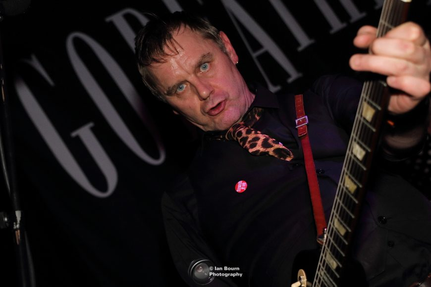 The GODFATHERS: photo by Ian Bourn for Scene Sussex.