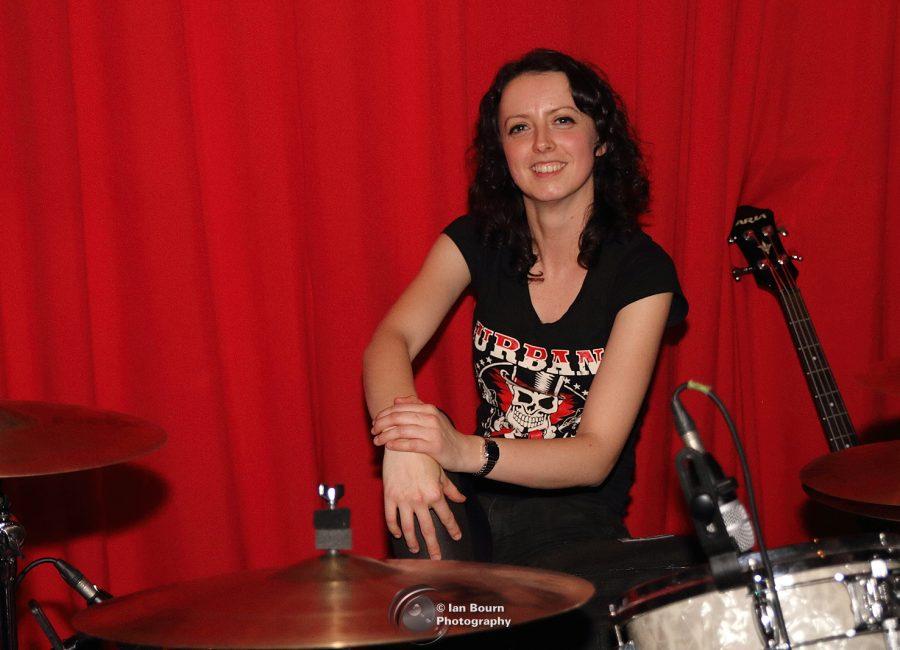 Karen Jones: Drums and vocals