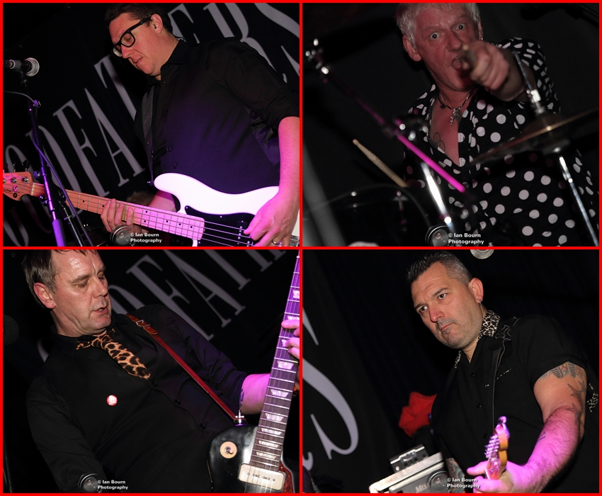The Godfathers - photo by Ian Bourn for Scene Sussex