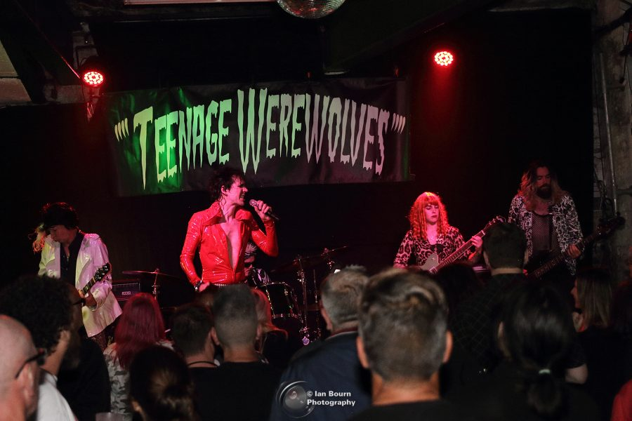 Teenage Werewolves: Photo by Ian Bourn for Scene Sussex